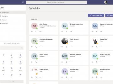 Microsoft Teams and Working from Home